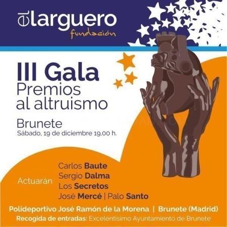 HOY BRUNETE ACOGE DOS GRANDES EVENTOS ORGANIZADOS POR LA FUNDACIóN EL LARGUERO.
