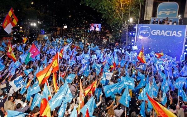 MARIANO RAJOY, REVALIDA SU TíTULO EN LA PRóRROGA CON GOLEADA: 600.000 VOTOS MáS