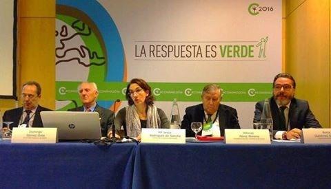 El alcalde de Brunete, Borja Gutiérrez, participó como ponente en el Congreso Nacional de Medio Ambiente 2016
