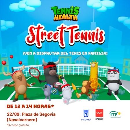 NAVALCARNERO ACOGE EL STREET TENNIS DE LAS DAVIS CUP BY RAKUTEN FINALS