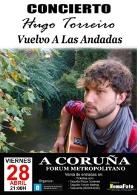 Concierto Hugo Torreiro Gira Vuelvo A Las Andadas