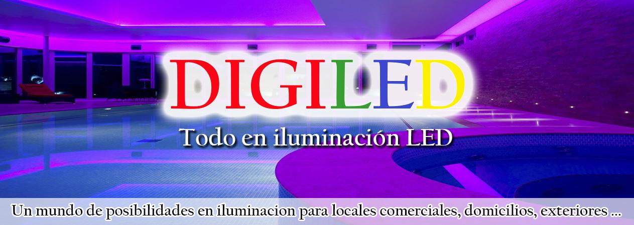 EN SUMINISTROS ELÉCTRICOS DIGILED SOMOS ESPECIALISTAS EN ILUMINACIÓN LED. COMPRAR LED BARATO CORUÑA