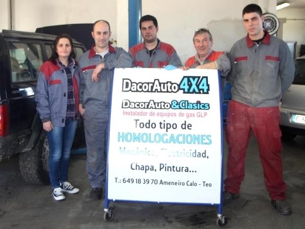 Taller 4x4 en A Coruña 'Dacorauto'