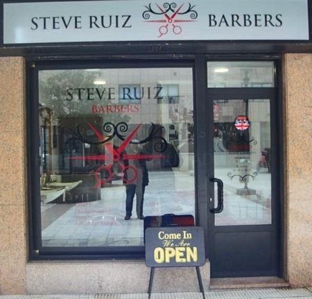 Steve Ruiz Barbers, barbería en A Coruña