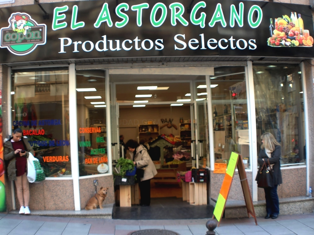 Productos selectos en A Coruña: El Astorgano