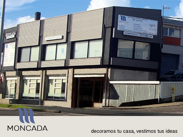Moncada, persianas y rieles en A Coruña. Distribuidor en Galicia