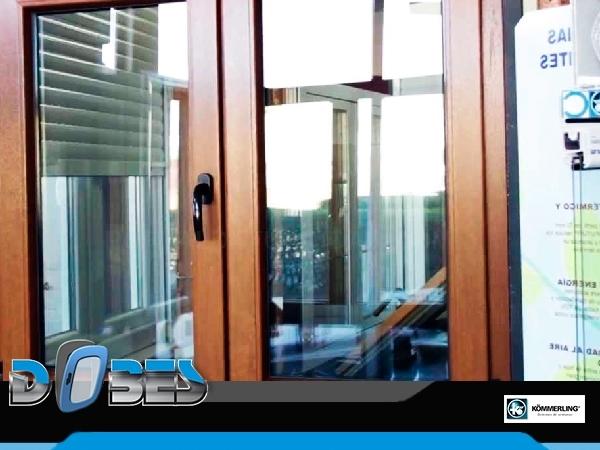 Dobes, ventanas en PVC y aluminio en A Coruña