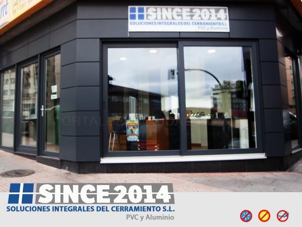 SINCE 2014: CERRAMIENTOS PVC Y ALUMINIO EN A CORUÑA