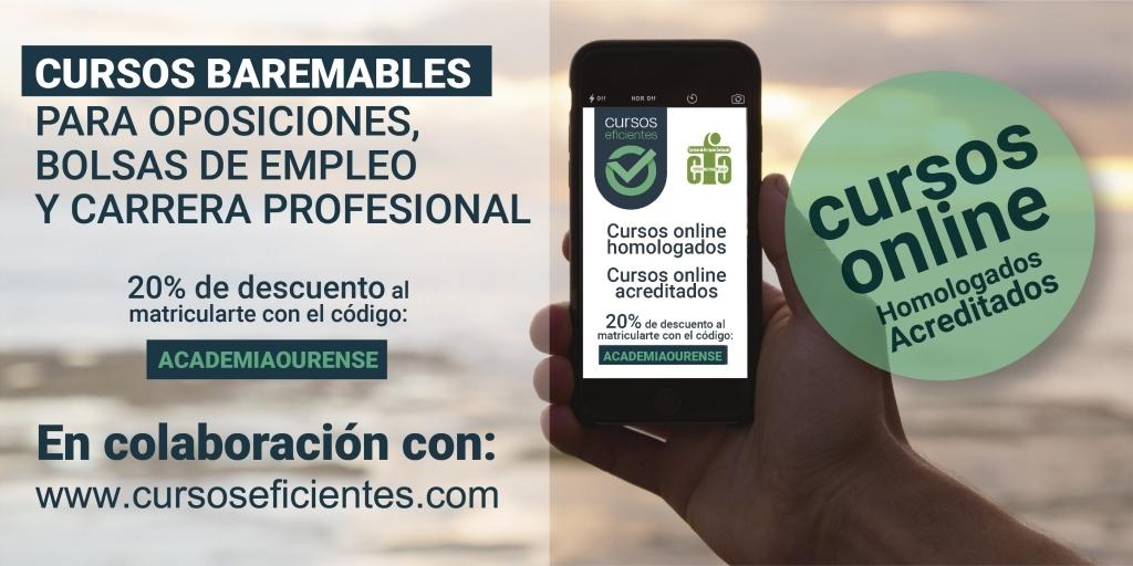 Más información en www.oposicionesacademiaourense.com