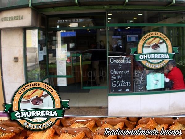 En A Coruña, churrería 'La Oriental'