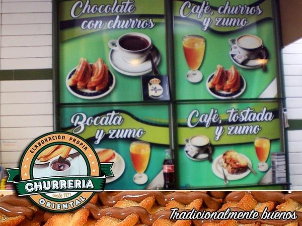 En A Coruña, churrería