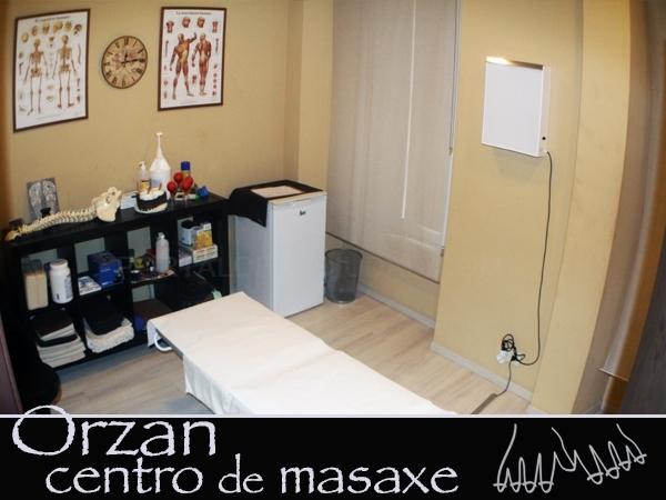 Orzan, centro de masaxe en A Coruña