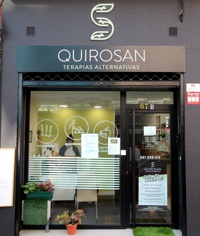 Acupuntura y masajes en Coruña, QUIROSAN