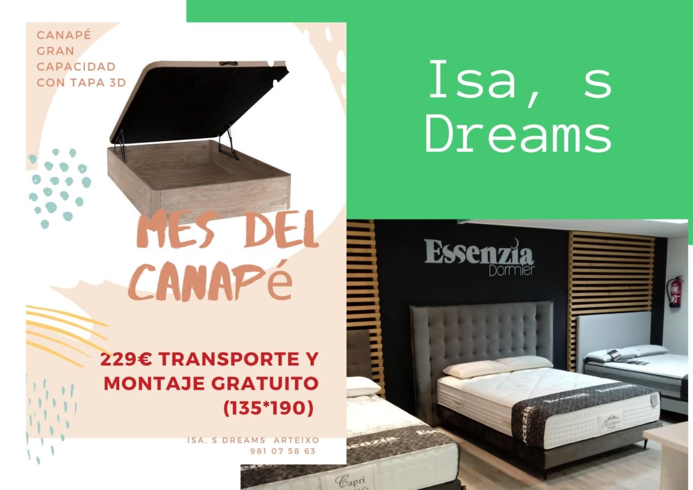 Tienda de colchones en Arteixo, Isa´s dreams