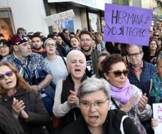 Concentraciones en A Coruña contra la sentencia a 'La Manana'