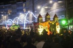 Tres horas de Cabalgata de Reyes en A Coruña