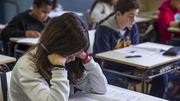 Nueve mil niños de la provincia de A Coruña estaban convocados para la reválida