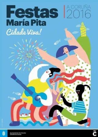As Festas de María Pita xa teñen o seu cartel completo