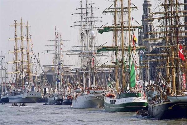 La mayor concentración de veleros del mundo, en A Coruña