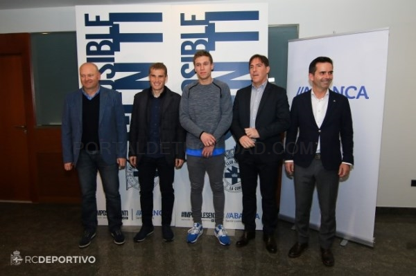 PRESENTACIóN DE LA CAMPAñA DE 'HERMANAMIENTO' ENTRE DéPOR-CELTA