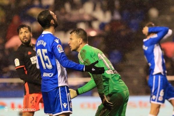 El Dépor deja escapar unos merecidos puntos ante el Valencia