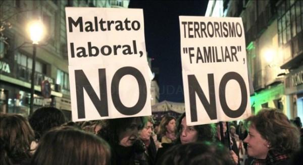 A Coruña 'pecha' no Día da Muller