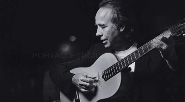 Joan Manuel Serrat actúa en julio en A Coruña