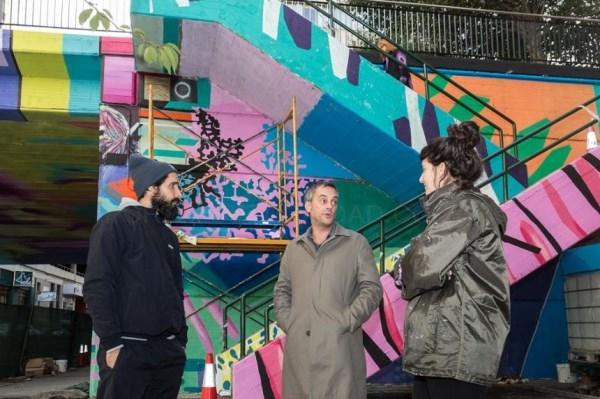 'Ruarte' recupera zonas degradadas da Coruña a través da arte