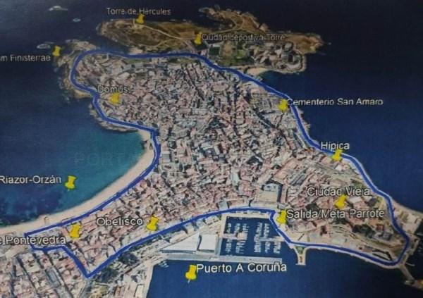 A carrera San Silvestre llenará de corredores las calles de A Coruña