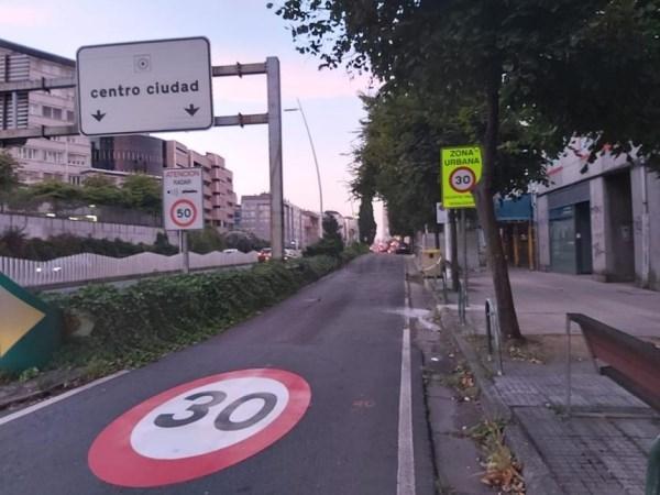 'CORUÑA 30', un plan de sinalización para reducir o número de accidentes