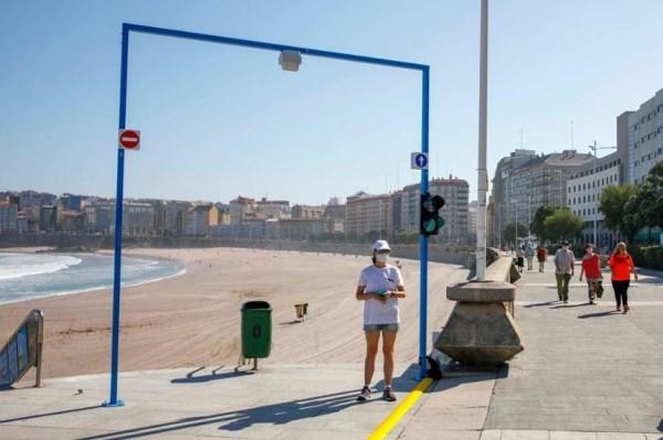 Pecha a tempada de praias cun 30% de incidencias menos que no 2019