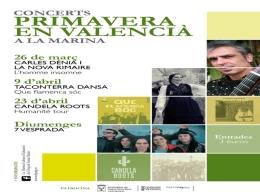 EL CANVI D'ESTACIó ESCLATA MUSICALMENT AMB EL FOLCLORE I EL MESTISSATGE DELS CONCERTS PRIMAVERA EN VALENCIà