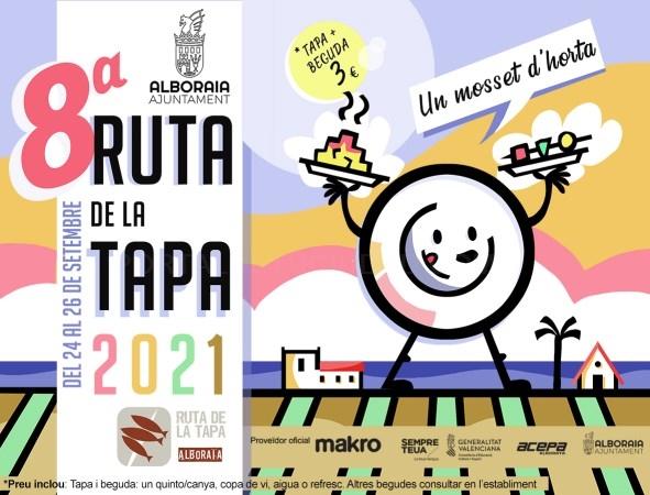 Alboraya pone en marcha una octava edición de la Ruta de la Tapa protagonizada por los productos de proximidad