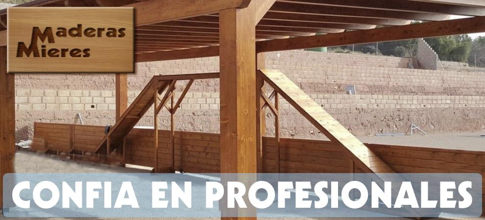 Pérgolas de madera Horta Nord, Pérgolas de madera Burjassot