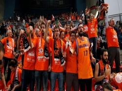 Valencia Basket agradece a la afición el apoyo durante la Copa del Rey Vitoria'17