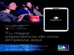 Kinépolis lanza su nueva nueva aplicación móvil