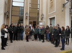 El Ayuntamiento de Alboraya se une al minuto de silencio por el asesinato de una mujer en Valencia