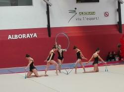 Alboraya obtiene 47 medallas en el último torneo de gimnasia rítmica