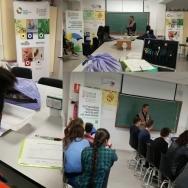 El IES Federica Montseny participa en los talleres del programa Recicla con los cinco sentidos