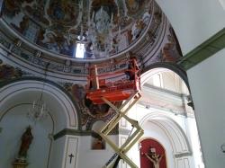 El Ayuntamiento de Burjassot renueva toda la iluminación de la Ermita de San Roque