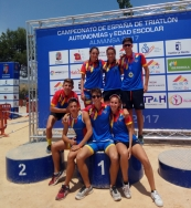 Tripuçol con la Selección Valenciana en el Campeonato de España
