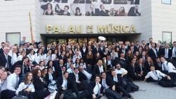 La Sociedad Musical de Alboraya gana el tercer premio en el Certarmen Internacional de Bandas Ciudad de Valencia