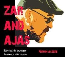 Las Zarandajas de Fermín Alegre llegan a la Casa de Cultura de Burjassot en forma de poemas y aforismos