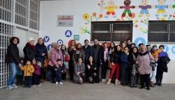 EL PROYECTO CREANDO ESCUELA FINALIZA CON NUEVO NOMBRE PARA LAS ESCUELAS INFANTILES MUNICIPALES Y MOSAICOS VIVOS EN SUS FACHADAS