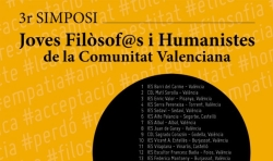 Burjassot, sede del III Simposio Jóvenes Filósofos y Humanistas de la Comunidad Valenciana