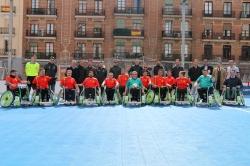 Madrid acoge la presentación del fútbol en silla, nueva disciplina deportiva