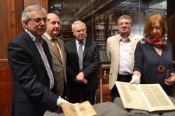 LA UNIVERSITAT DE VALÈNCIA INCORPORA NUEVAS OBRAS PERTENECIENTES AL PATRIMONIO BIBLIOGRAFICO VALENCIANO