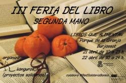 La III Feria del Libro de segunda mano llega al Parque de La Granja los días 21 y 22 de abril