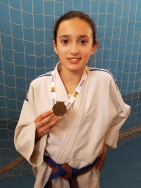 Rocío García, campeona provincial de judo