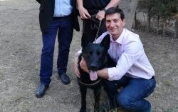 Falcon, el nuevo can de la Unidad Canina de la Policía Local de Burjassot